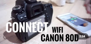 Menghubungkan Kamera Via Wifi