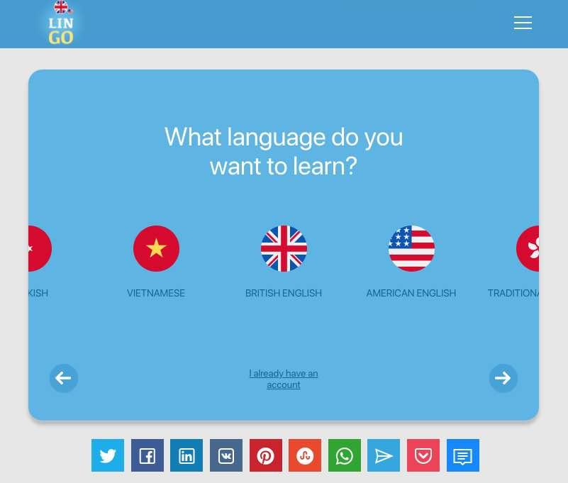 Membatalkan belajar bahasa