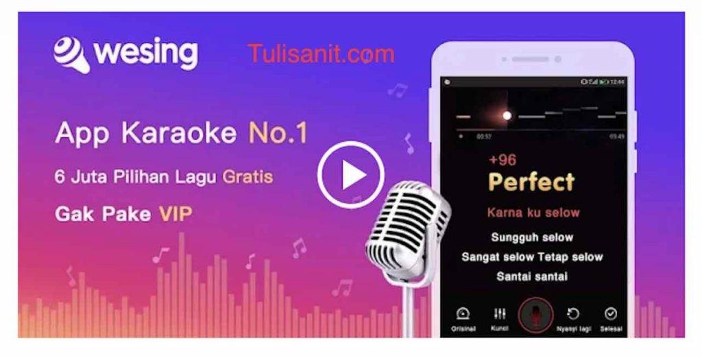 Aplikasi Karaoke Wesing
